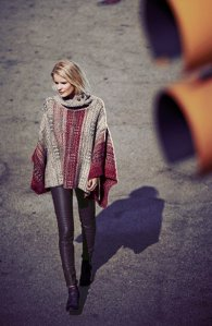Free People- 'Willow' Poncho $168.00