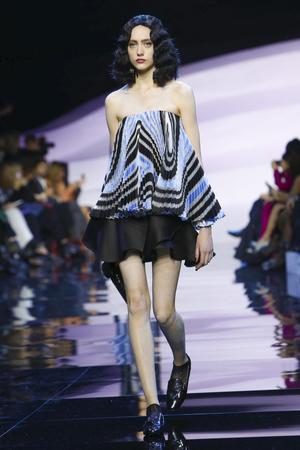 Giorgio Armani Privé, Fashion Show, Couture Collection Spring Summer 2016 in Paris