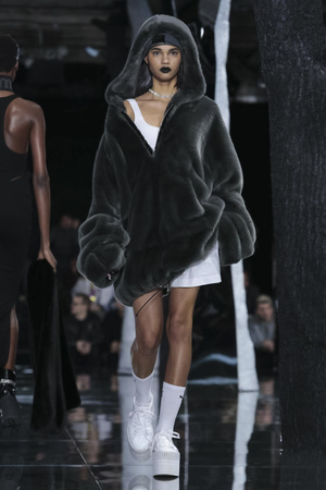 Fenty Rihanna X Puma Fashion Show, Ready To Wear Fall Winter 2016 Collection in New York