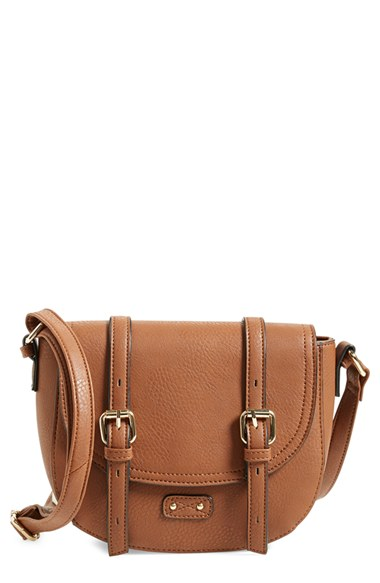 BP. Buckle Saddle Crossbody Bag $38