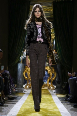 Roberto Cavalli Fashion Show, Ready To Wear Collection Fall Winter 2016 in Milan