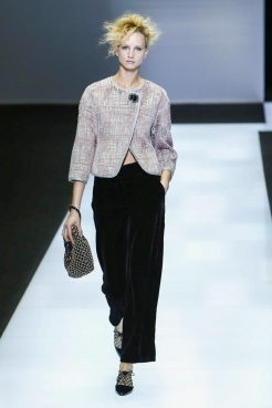 Giorgio Armani, Fashion Show, Ready to Wear Collection Fall Winter 2016 in Milan