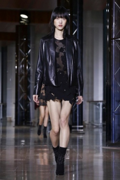 Anthony Vaccarello Fashion Show, Ready To Wear Collection Fall Winter 2016 in Paris