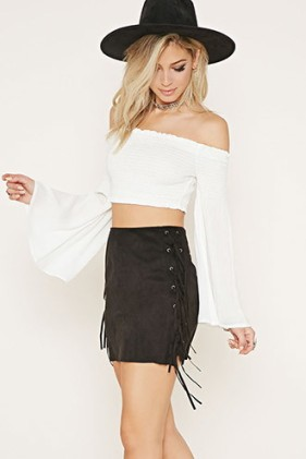 Rise of Dawn Crop Top, Forever 21
