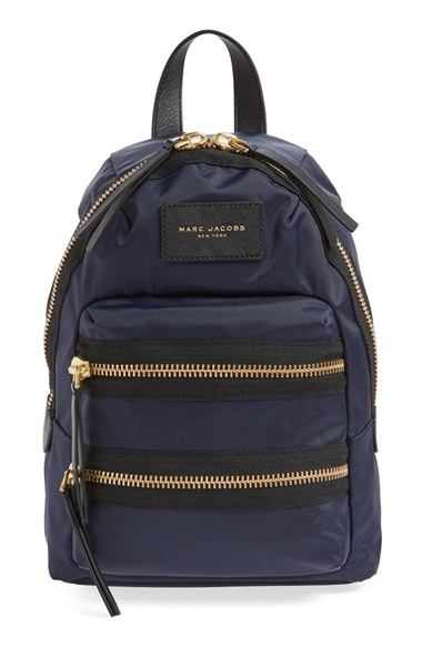 "Marc Jacobs ""Mini Biker"" Nylon Backpack"