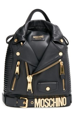 Moschino 'Biker Jacket' Backpack