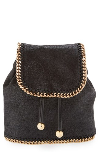 Stella McCartney 'Mini Falabella' Faux Leather Backpack