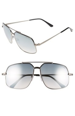 Tom Ford Ronnie 60mm Aviator